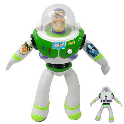 "Disney TOY STORY Buzz Lightyear 8.8"" Plush Soft Figure"