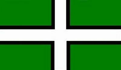 Devon Flag 5 x 3 FT - 100% Polyester With Eyelets - Flag - English County