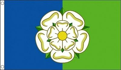 East Riding of Yorkshire Flag 5 x 3 FT - 100% Polyester With Eyelets - English