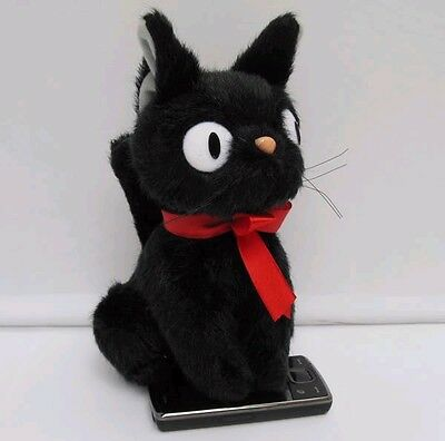 "KIKI'S DELIVERY SERVICE JIJI CAT SOFT PLUSH doll 8.5"",NEW"
