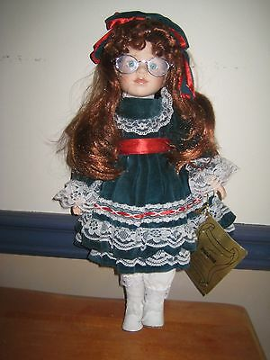 "Seymour Mann Award Winning Doll ""Anne"" (red head with glasses)"