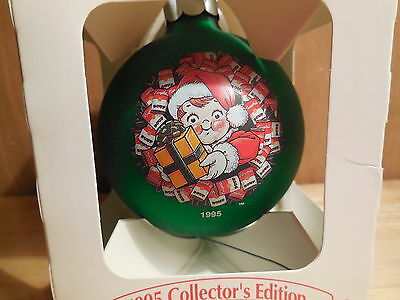 1995 Campbell Soup Christmas Ball Ornament with Box