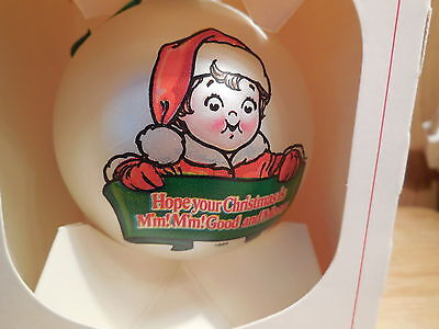 1981 Campbell Soup Christmas Ball Ornament with Box