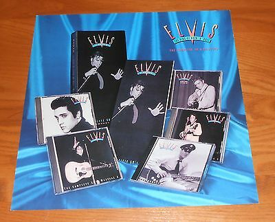 Elvis Presley The Complete 50's Masters Poster Flat Square 1992 Promo 12x12