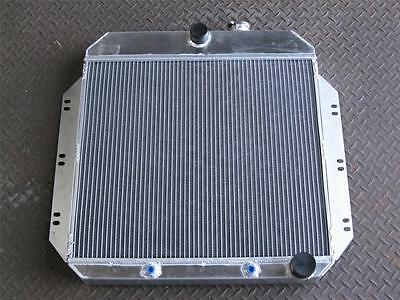 "1960-1962 C//K Chevy Apache Pickup Truck 3 Row Aluminum AR Radiator 16/"" Fan"