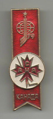 Orig.pin   Ice Hockey World Championship MOSKAU (USSR) 1979 - participant CANADA