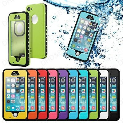 2014 Newest Waterproof Shockproof Dirt Snow Proof Case Cover For iphone 5c 5 5S