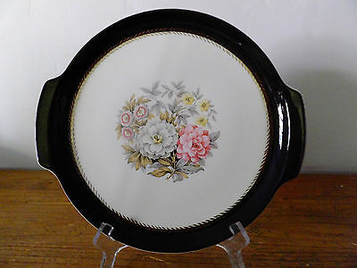 French Saxon Dinnerware USA Empire Pattern Handled Serving Plate
