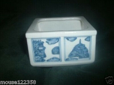 Willow blue Collectibles Square Sugar Bowl