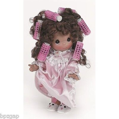 """Precious Moments Don't Hate Me Because I'm Beautiful Brunette 9"""" Doll #3506"""