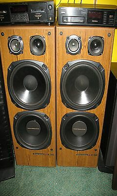 Pair of Large Vintage JVC SP-9710WD Speakers. Great Condition. Big Sound!