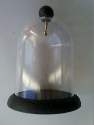 Pocket watch stand-collectables display dome and base-For Antique Watches