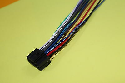 wire harness for kenwood kdc x597 kdc 105u kdc x497 100 copper rh picclick com Kenwood KDC X797 Review Kenwood KDC X797 Review