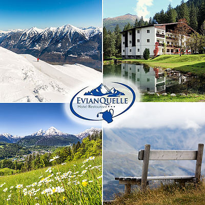 3 nights for 2P at the 3* Hotel Evianquelle! Come to the Alps! Austria trip
