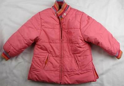 5y fits 4y CATIMINI girls french designer pink winter CLEARANCE coat jacket