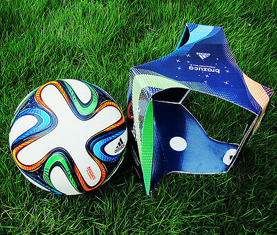 TOP 2014 World Cup FIFA Brazuca Official Match Ball Football Soccer Size5 In box