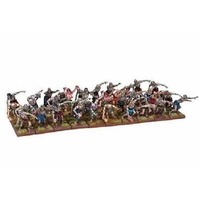 Kings of War Undead Zombie Swarm 40 Miniatures by Mantic MGE KWU33-1 Brand New
