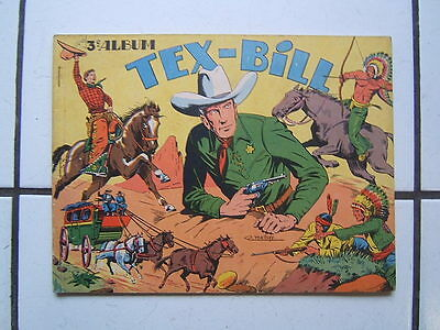 Edition  Artima  / Album Tex Bill 3 /  Dynamic / Tex Bill 1 Er Serie