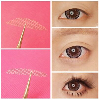Double Eyelid Tape Schlupflid-Weg Invisible Augenlid Lifting Spitze Faser 24