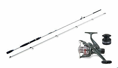 Lineaeffe Saltwater spinning rod & Andromeda 040RD Reel combo Opt 4 Rod Lengths.