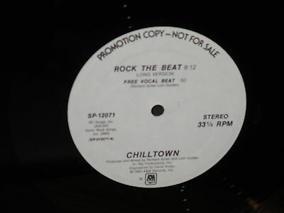 "Chilltown ""Rock the Beat"" 12"" Single"