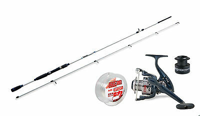 Lineaeffe Saltwater spinning rod &Andromeda 030FD Reel.+Line combo Opt 4 Lengths