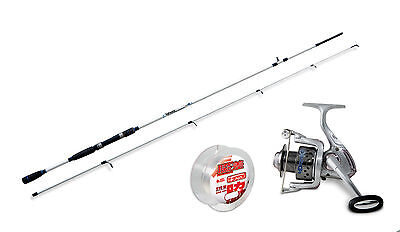 Lineaeffe Saltwater spinning rod & Drake 40FD Reel+ Line combo Opt  4 Rod sizes.