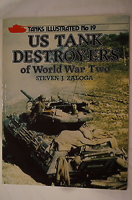 WW2 US Army Tank Destroyers Armour 19 Reference Book