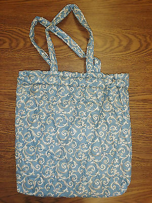 "Ellen Originals Quilted Lined HUGE 16""H x 16""W Sewing Knitting Tote Bag ~ SALE!~"