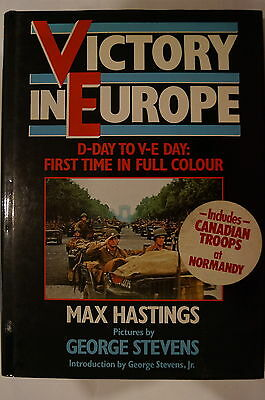 WW2 US British Victory In Europe D-Day to VE-Day Colour Reference Book