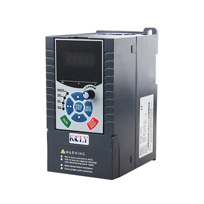 3Phase 380AC 2.2KW 5.1A 3hp Vector Control Variable Frequency Drive Inverter VFD
