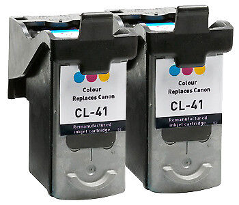 Text quality Colour Ink Cartridge x 2 ( Twin Pack )  for Canon Pixma MP460