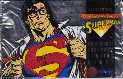 The Return Of Superman Trading Cards Complete 100 Card Set
