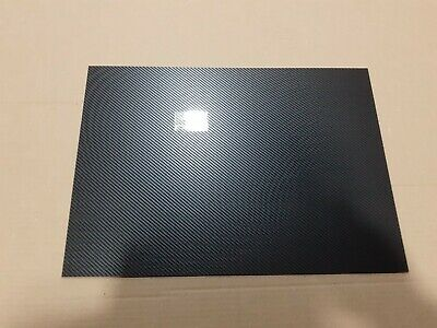 Black  Carbon Fibre Effect ABS Sheet A6 A5 A4 A3 > 1250mmx 600mm model vac form