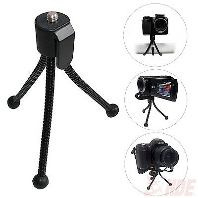 Universal Pocket Flexible Tripod Travel Stand for Mini Camera Flip HD Video Cam