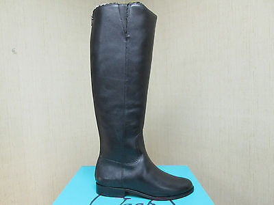 BRAND NEW Women's Jack Rogers Lisbeth Leather Boots Black  5.5M