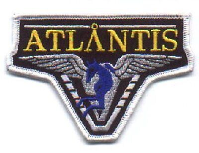 Stargate Atlantis TV Series Popular Pegasus Logo Patch, NEW UNUSED