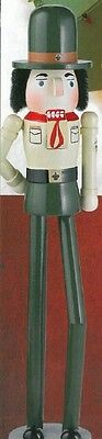 NEW 2014 Edition Exclusive BSA Scoutmaster NUTCRACKER Norman Rockwell Boy Scouts