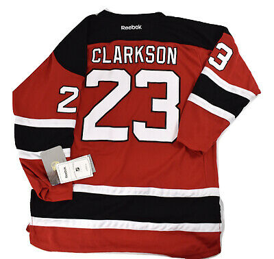 info for a13f1 9a0c2 REEBOK NHL NEW Jersey Devils David Clarkson Youth Replica Jersey NWT L/XL
