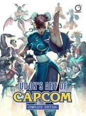 Udon's Art of Capcom by Udon Hardcover Book (English)