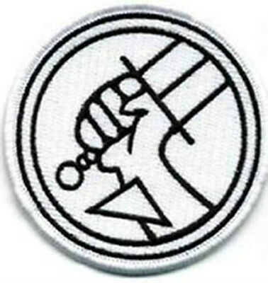 Hellboy BPRD White - Iron on Patch