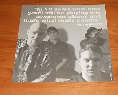 Queens of the Stone Age Restricted Poster 2-Sided Flat Square 2000 Promo 12x12