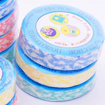 10-pack Protable Face Towels Magic Compressed Towels Travel Camping Washcloth