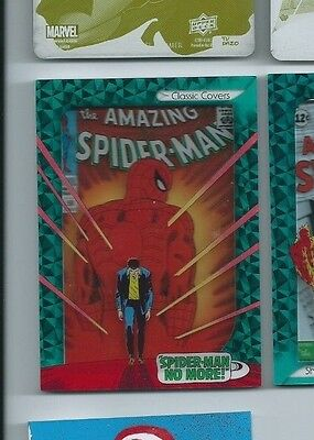 2014 Marvel Premier shadowbox CSB-18 Amazing Spider-man 50
