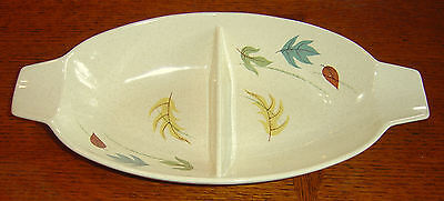 Franciscan Autumn Oval Divided Vegetable Dish Bowl