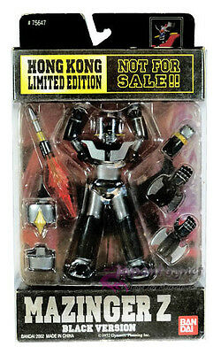 Bandai Super Robot wars in Action MAZINGER Z BLACK MSIA figure limited new gx01