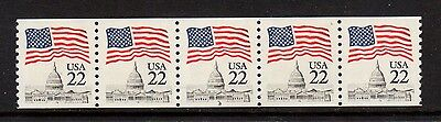 #2115c Flag over Capitol PNC5  PL#T1 - MNH