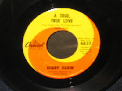 "Bobby Darin ""If a Man Answers/A True Ture Love"" 45"