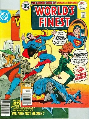 World's Finest #242 and #243