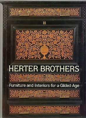 Herter Brothers Victorian Antique Furniture - History Types Inlays / Scarce Book
